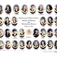 Master of Library and Information Science Graduating Class Summer 1991
