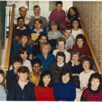 Master of Library and Information Science Graduating Class Winter 1988
