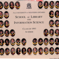 Master of Library and Information Science Graduating Class Summer 1993