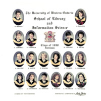 Master of Library and Information Science Graduating Class Fall 1990