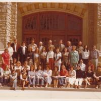 Master of Arts in Journalism Graduating Class 1977-1978