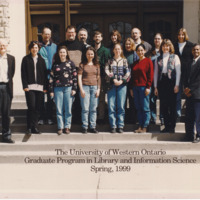 Master of Library and Information Science Graduating Class Spring 1999