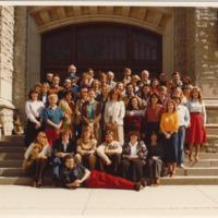 Master of Arts in Journalism Graduating Class 1980-1981