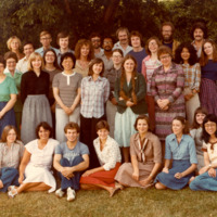 Master of Library and Information Science Graduating Class Summer 1978