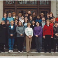 Master of Library and Information Science Graduating Class Spring 2002