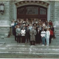 Master of Arts in Journalism Graduating Class 1985-1986
