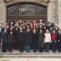 Master of Arts in Journalism Graduating Class 2001-2002