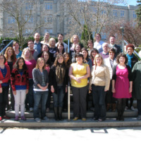 Master of Library and Information Science Graduating Class Spring 2012