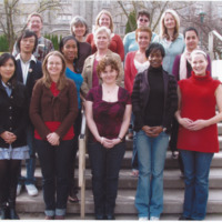 Master of Library and Information Science Graduating Class Fall 2009