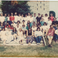 Master of Library and Information Science Graduating Class Summer 1989