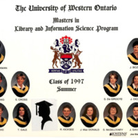 Master of Library and Information Science Graduating Class Summer 1997