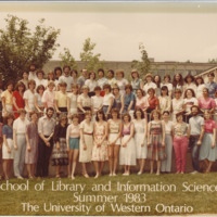 Master of Library and Information Science Graduating Class Summer 1983