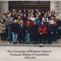 Master of Arts in Journalism Graduating Class 1996-1997