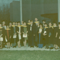 Master of Library and Information Science Graduating Class Fall 1969