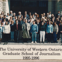 Master of Arts in Journalism Graduating Class 1995-1996