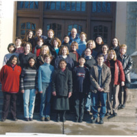 Master of Library and Information Science Graduating Class Fall 2003