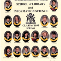 Master of Library and Information Science Graduating Class Spring 1993