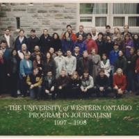 Master of Arts in Journalism Graduating Class 1997-1998
