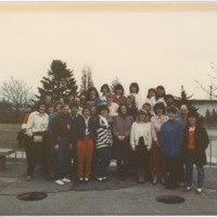Master of Library and Information Science Graduating Class Spring 1989