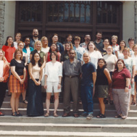 Master of Library and Information Science Graduating Class Summer 2001