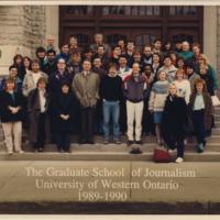Master of Arts in Journalism Graduating Class 1989-1990