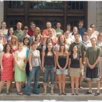 Master of Library and Information Science Graduating Class Summer 2005