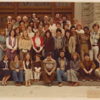 Master of Arts in Journalism Graduating Class 1978-1979