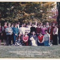 Master of Library and Information Science Graduating Class Fall 1985