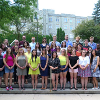 Master of Library and Information Science Graduating Class Summer 2016