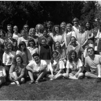 Master of Library and Information Science Graduating Class Summer 1995
