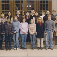 Master of Library and Information Science Graduating Class Fall 2002