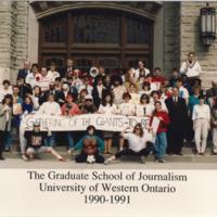 Master of Arts in Journalism Graduating Class 1990-1991