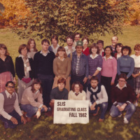 Master of Library and Information Science Graduating Class Fall 1982