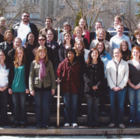 Master of Library and Information Science Graduating Class Spring 2009