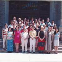 Master of Library and Information Science Graduating Class Summer 2002