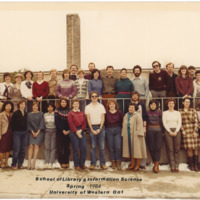 Master of Library and Information Science Graduating Class Spring 1984