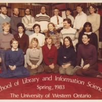 Master of Library and Information Science Graduating Class Spring 1983