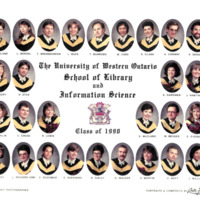 Master of Library and Information Science Graduating Class 1990