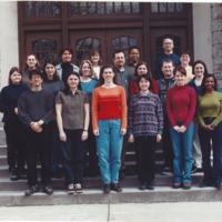 Master of Library and Information Science Graduating Class Spring 2001