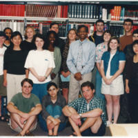 Master of Library and Information Science Graduating Class Summer 1999