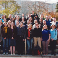 Master of Library and Information Science Graduating Class Fall 2008